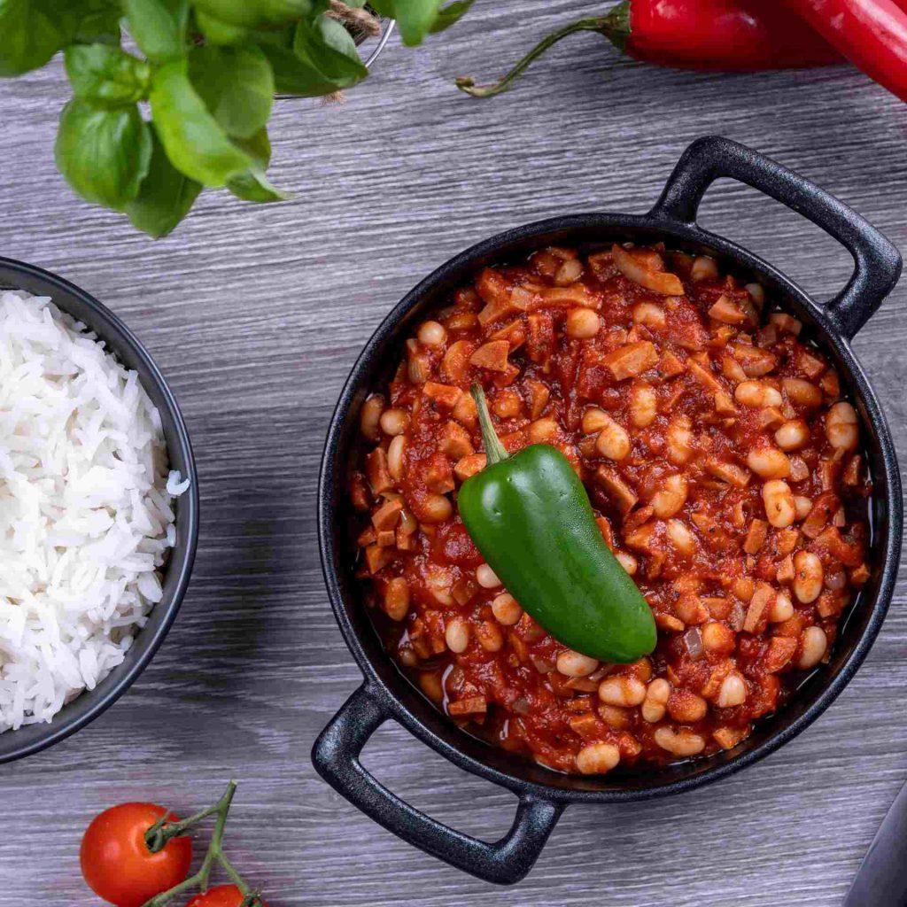 Chili con embutidos Recept